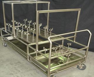 custom clean room cart