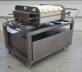 custom clean room filter cart