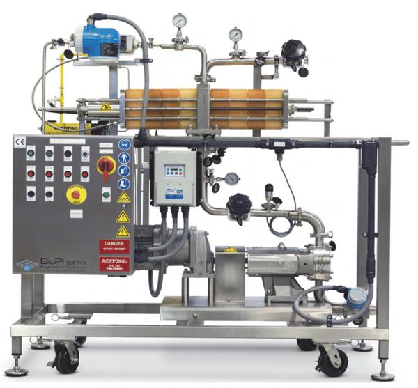 tangential-flow-filtration-cart
