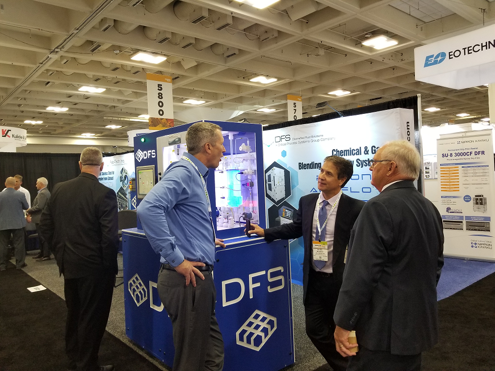 DFS Chemical Blender Display at Semicon West 2019