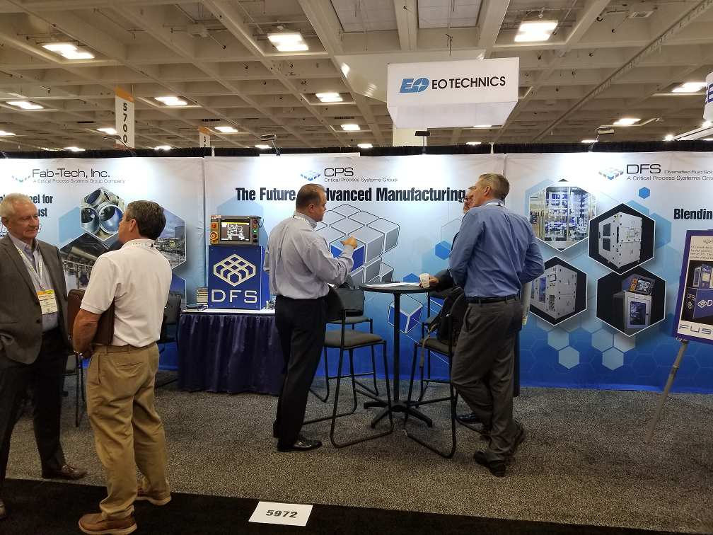 Visitors to CPS Group Booth at Semicon West 2019