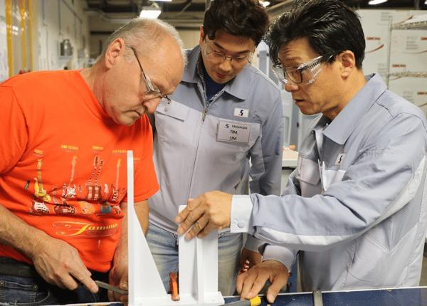DFS SEBO Manufacturing Training