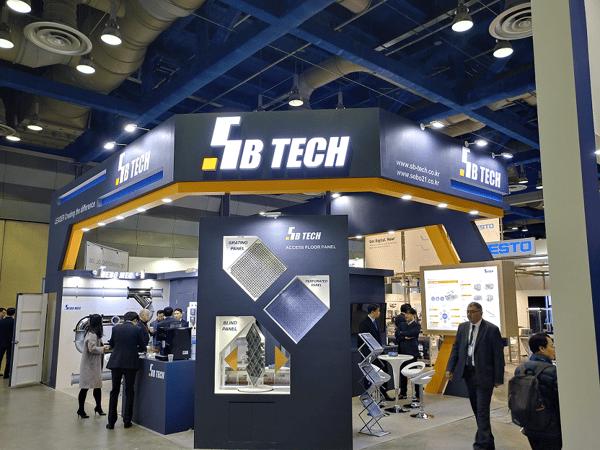 SB Tech Booth at Semicon Korea 2019