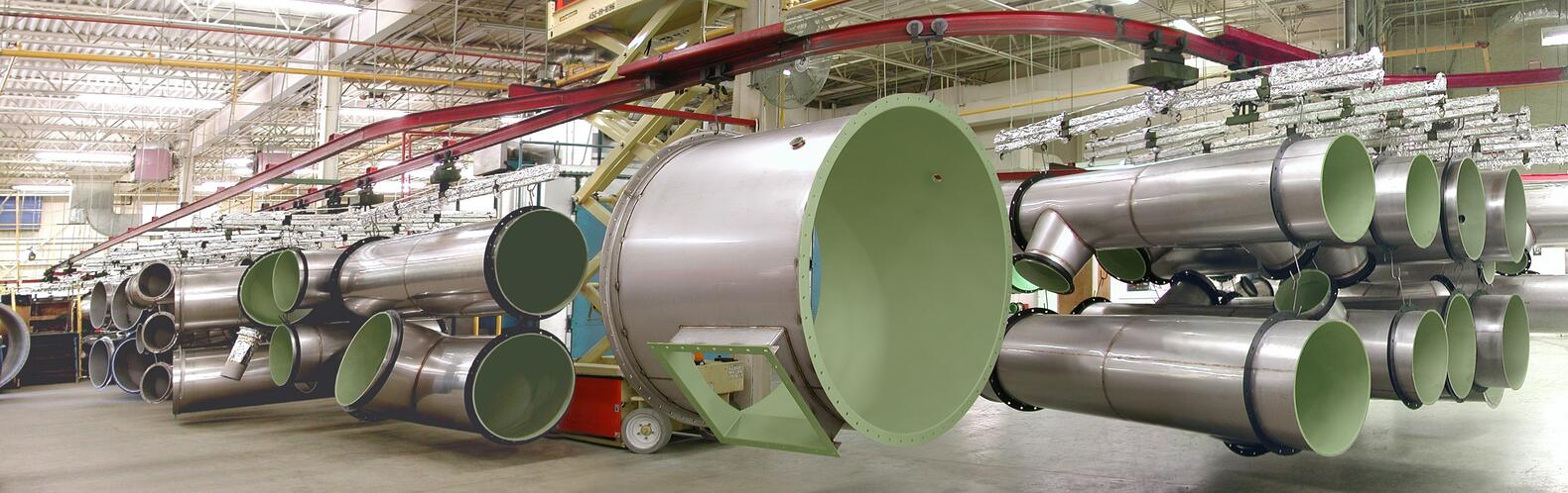 Fluoropolymer coated stainless steel vent pipe.jpg