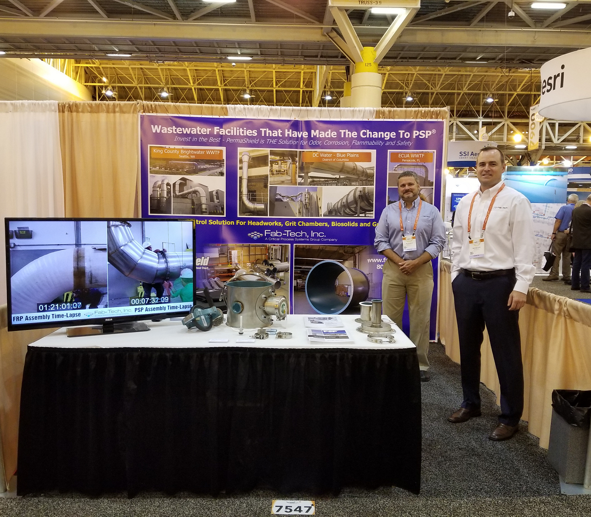 PSP on display at WEFTEC 2018