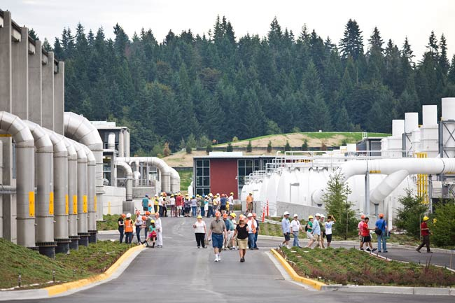 Brightwater WWTP Tour