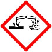 corrosive acid and acid fumes