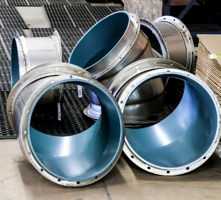 research lab fume exhaust duct