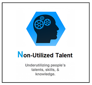 8 wastes of lean - non-utilized talent