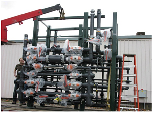 Process piping delivery