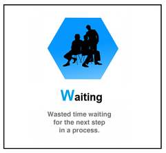 Waiting - 8 wastes of lean