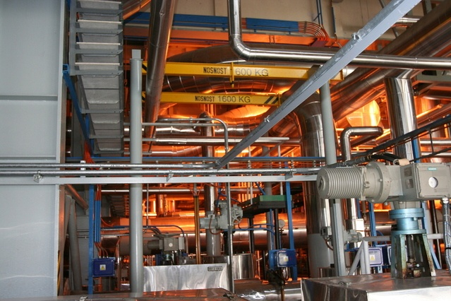 raised floor systems are perfect for factory settings