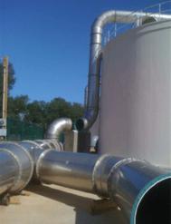 PSP® fume exhaust duct installation in progress