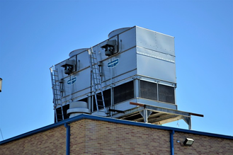 Rooftop cooling and ventilation AC unit